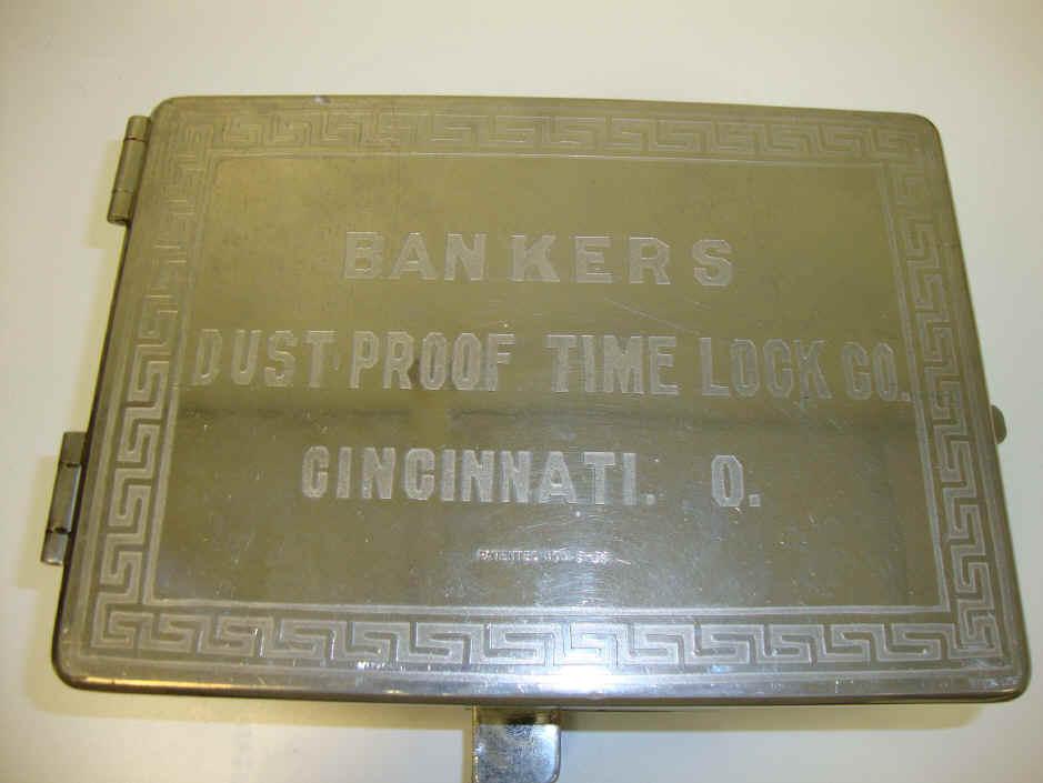 Bankers Dustproof Time Lock 4 Mvt